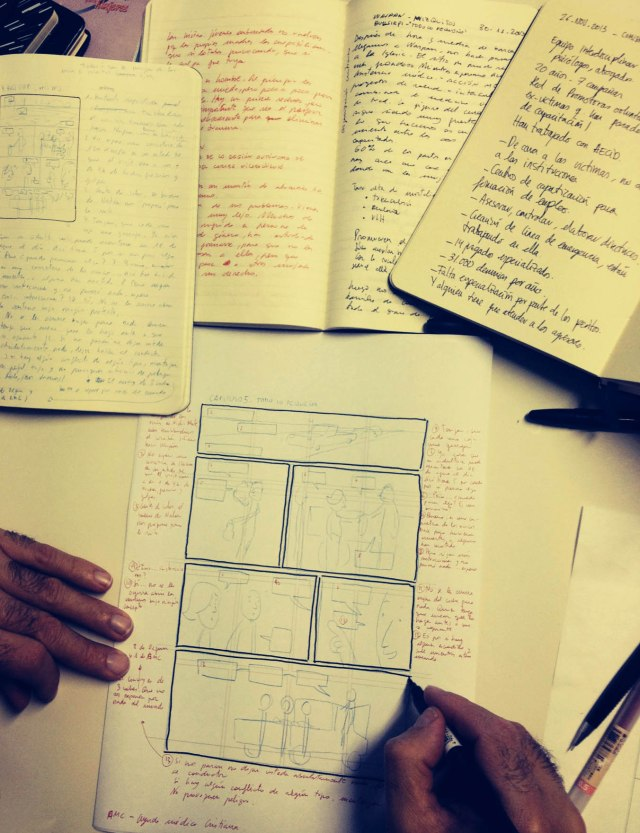Story board Nicaragua