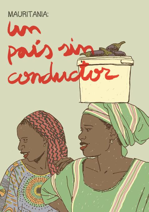 """""""Un país sin conductor"""", el cómic de Paco Roca sobre Mauritania"""
