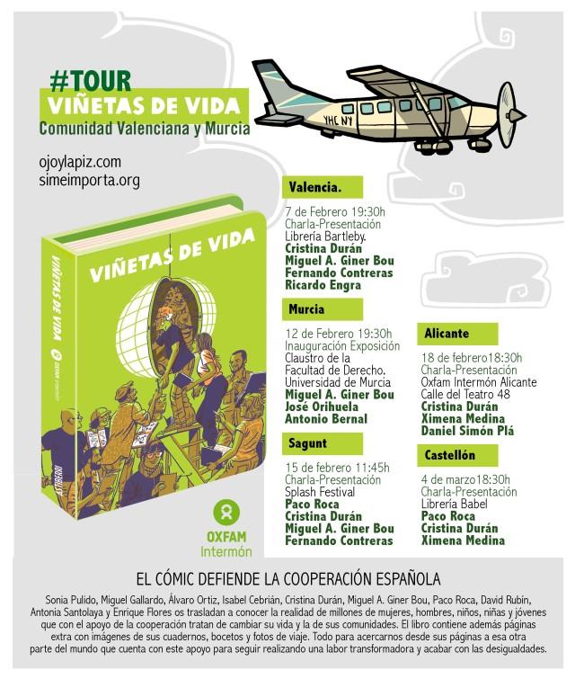 TourViñetasCVyMurcia